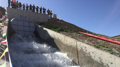 河南地特力与中铁十六局新疆西二输水工程合作成功案例